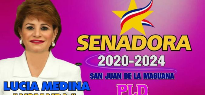 "Lucía Medina, la hermana de Danilo, ""tiene entre ceja y ceja"" ser senadora de San Juan… ""¡¡El pleito 'ta casa'o con Félix Bautista!!"""