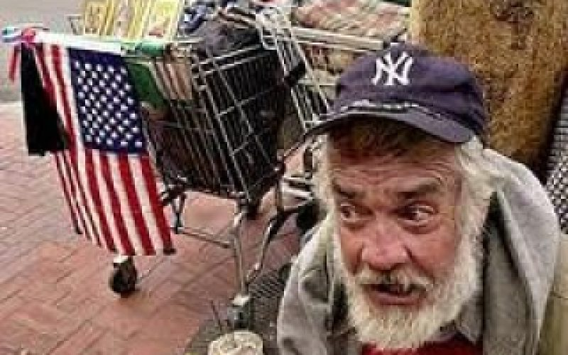 ¡Pobreza extrema en el país más rico del mundo!
