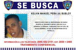 La Policía sigue buscando a Bubloy por muerte del sargento Mateo Lara en La Romana