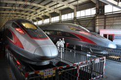 Tren bala de China aumenta velocidad a 350 kilómetros por hora