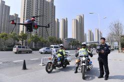 Drones en China para detectar a los que violan reglas del tránsito