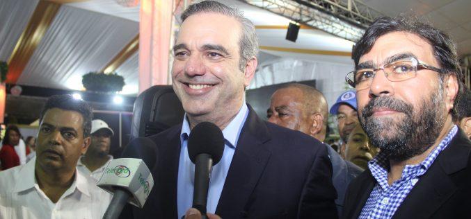 Luis Abinader ve «imposible» la reelección; «…Está prohibida y la gente quiere cambiar»