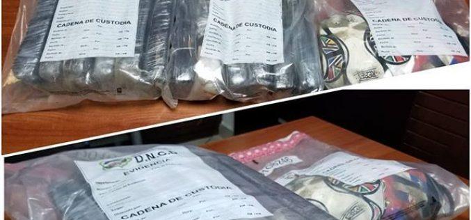 DNCD decomisa 12 paquetes de cocaína en puerto Multimodal Caucedo