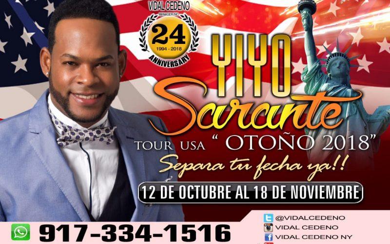 «¡¿Pero  qué es lo que vamos a hacer?!»…  Yiyo Sarante ya tiene definido el tiempo de su próxima gira por Estados Unidos