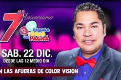 Es en diciembre, pero El Pachá ya comenzó a promover el séptimo aniversario de su programa Pégate y Gana con El Pachá