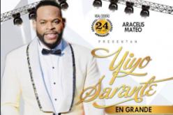 Boletas para el esperado espectáculo Yiyo Sarante en Grande…