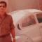 """Ahí está Leonel, con su """"cepillito azul"""" (Volkswagen)"""