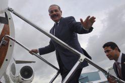 Los funcionarios que acompañan al presidente Danilo Medina en su viaje a China