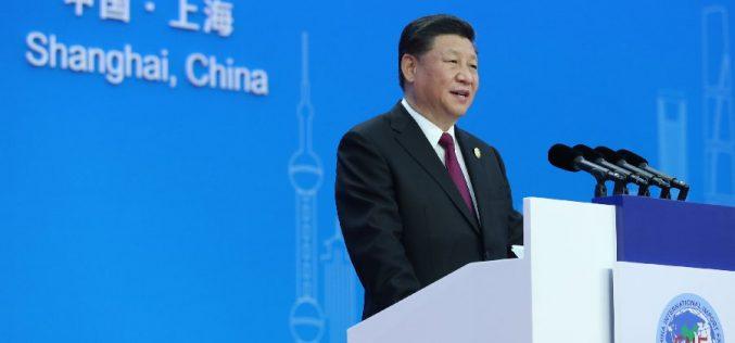 El presidente chino Xi Jinping apostando a una economía mundial abierta desde la Feria de Shangai