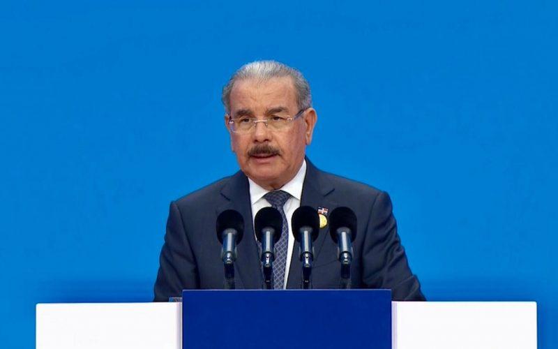 (Video) Lo que dijo el presidente Danilo Medina ante su homólogo de China, Xi Jinping, en la Feria de Shangai