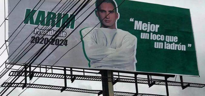 """""""Mejor un loco que un ladrón""""… El """"loco"""" Karím Abu Naba será proclamado candidato presidencial del Partido Socialista Verde"""