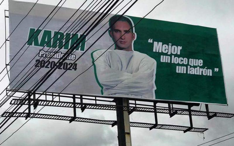 «Mejor un loco que un ladrón»… El «loco» Karím Abu Naba será proclamado candidato presidencial del Partido Socialista Verde
