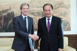 Xinhua, agencia de noticias de China, y AFP, de Francia, acuerdan fortalecer cooperación