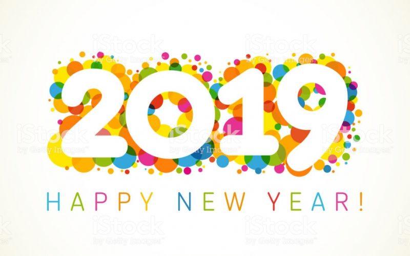 cristalycolores desea un próspero y venturoso 2019 para los dominicanos todos… ¡Salud…!
