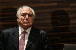 Fiscal general de Brasil denuncia al presidente Michel Temer por lavado de dinero y corrupción pasiva