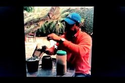 (Video) Abel Martínez, alcalde de Santiago, enseña cómo colar café
