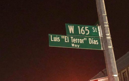 """Si en Nueva York hay una calle con su nombre, en Bonao hace tiempo debió designarse una como """"Luis (El Terror) Días"""""""