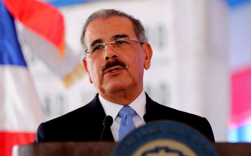 (Video) Danilo Medina ¡por fin! habla de inseguridad; le «regala» una amplia declaración a los periodistas del Palacio