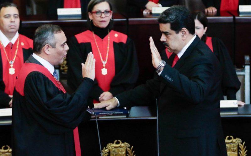 Nicolás Maduro juramentado para un nuevo mandato como presidente de Venezuela
