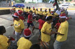 Fundovida y su fiesta navideña para niños y envejecientes