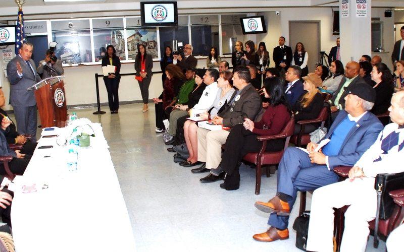 Cónsul de RD en NY se reúne con representantes de organizaciones y exhorta a trabajar unidos en el Mes de la Herencia Dominicana