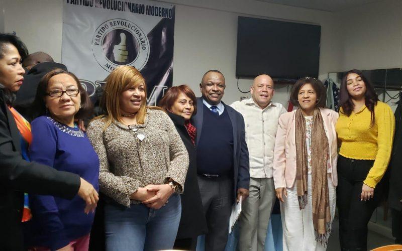 Parciales de Luis Abinader en Massachusetts están en inscripción de militantes para la convención