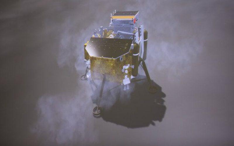 Chang'e-4, la sonda china que ha logrado asentarse en la cara oculta de la Luna