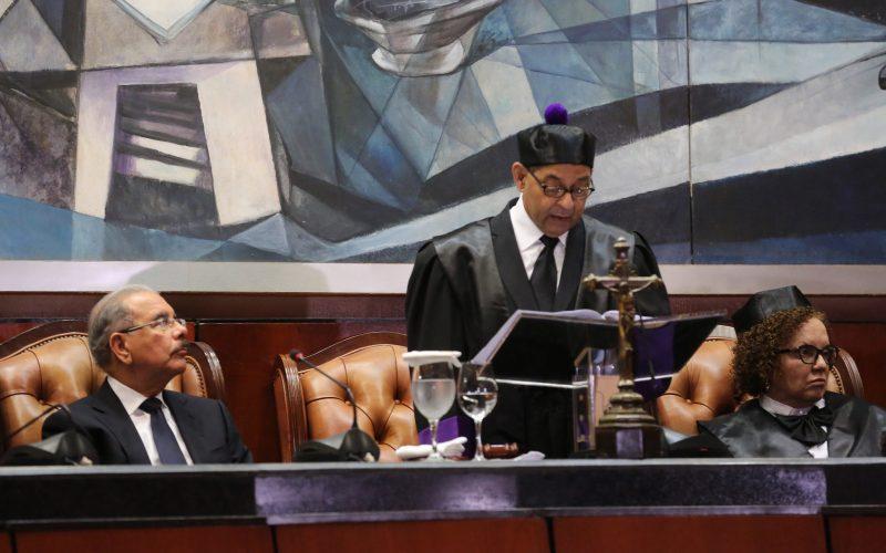 Presidente Danilo Medina en Audiencia Solemne por el Día del Poder Judicial