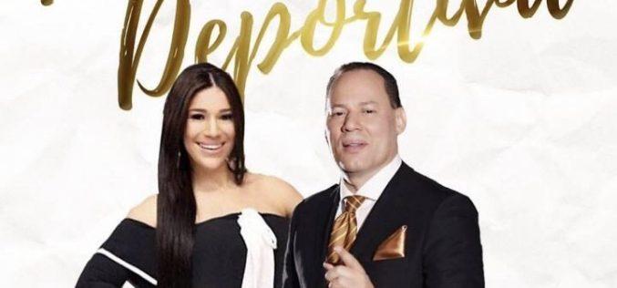 """(Video) El Rey de la Radio Franklin Mirabal y Dianabel Gómez, los novios de La Boda Deportiva, cuentan cómo se """"engancharon"""""""