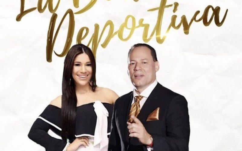 (Video) El Rey de la Radio Franklin Mirabal y Dianabel Gómez, los novios de La Boda Deportiva, cuentan cómo se «engancharon»
