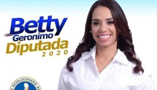 La ex bailarina Betty Gerónimo quiere se diputada en el 2020