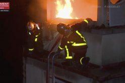 Hay hasta ahora 8 muertos por incendio en París en edificio de 8 plantas