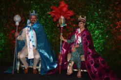 ¡Y con ustedes, el rey y la reina del Carnaval…! ¡Frank perozo y Nashla Bogaert…!
