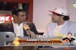 El Pachá reconocerá a Sammy Sosa en su programa: «Es todo un ícono de la MLB; un dominicano que junto a McGwire rescató el béisbol cuando estaba de capa caída»