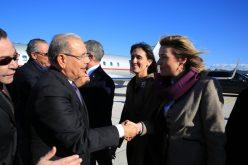 Presidente dominicano Danilo Medina llegó a Roma