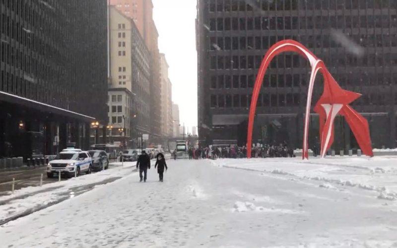 Sigue el temporal en EEUU; esperan otra tormenta de nieve este fin de semana en el oeste medio