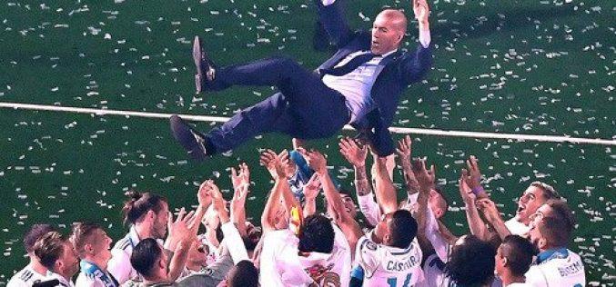 Zidane es presentado como el nuevo entrenador del Real Madrid