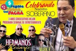 El Pachá vuelve con Pégate y Gana al auditorio de Plaza Sambil este sábado; esta vez a celebrar su Soberano como Programa Semanal de Entretenimiento