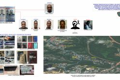 (Video) La Policía apresa a 5 haitianos miembros de banda que se dedica a asaltar residencias; otro resulta abatido