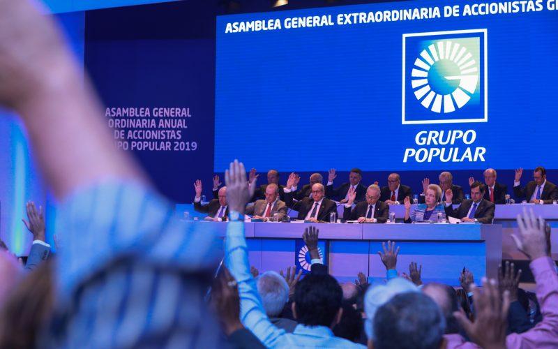 El Grupo Popular aumenta su capital social autorizado de 15 mil a 20 mil millones de pesos