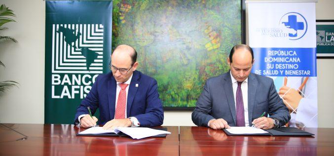Asociación Dominicana de Turismo de Salud y Banco Múltiple LAFISE Firman Convenio de Colaboración