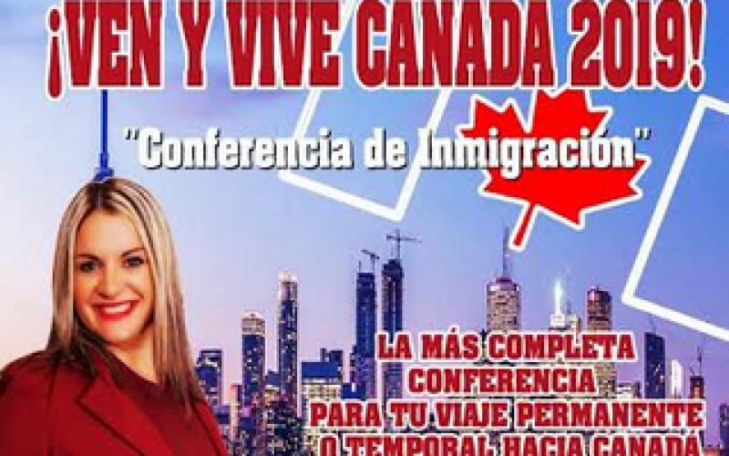 «Ven y vive Canadá 2019», la conferencia de Mariana Santos