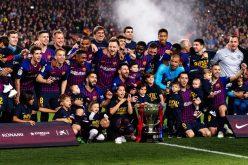 ¡El FC Barcelona se proclama oootra vez campeón de LaLiga…!