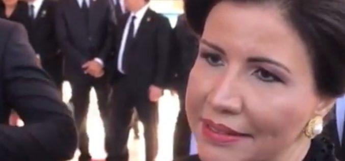 """La vice Margarita Cedeño ha puesto la pista más caliente de lo que estaba en el PLD: """"""""Ya yo pasé de ser primera dama (…) Sería un desperdicio volver a ser solo primera dama"""""""