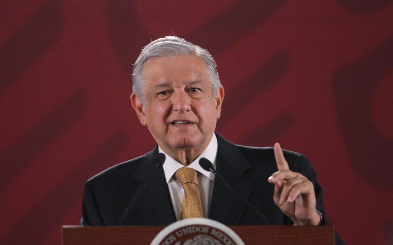 López Obrador, presidente de México, promete invertir dinero decomisado al narcotráfico y políticos corruptos en caminos y obras de infraestructuras