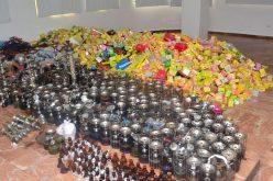 Batida contra las «hookahs» en Santo Domingo Este; autoridades confiscan alrededor de 500 en centros de diversión de esa zona