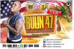 Bullin 47 se va de gira por Estados Unidos este me de mayo con Vidal Cedeño