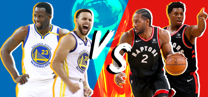 (Video) La final Golden State Warrios vs Toronto Raptors arranca este jueves; ¿quién gana…? ¿Qué pasará con Kevin Durant y Al Horford…?