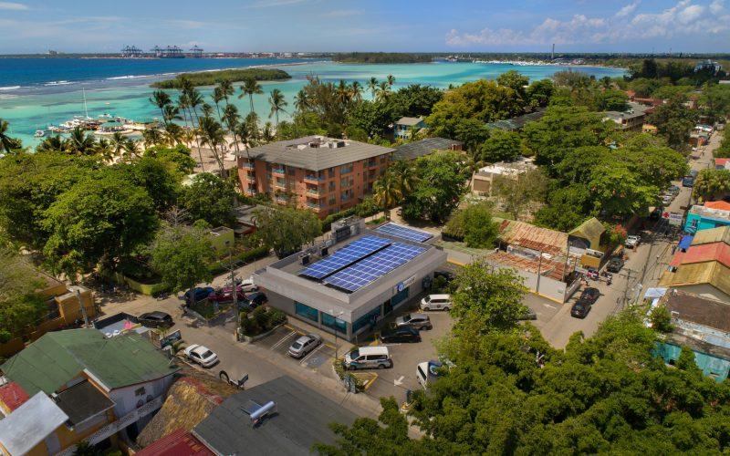 Naciones Unidas registra el proyecto de energía solar del Banco Popular Dominicano