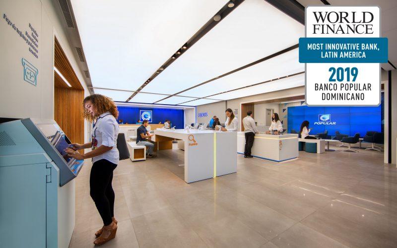 Banco Popular Domninicano, reconocido como el más innovador de Latinoamérica, según World Finance